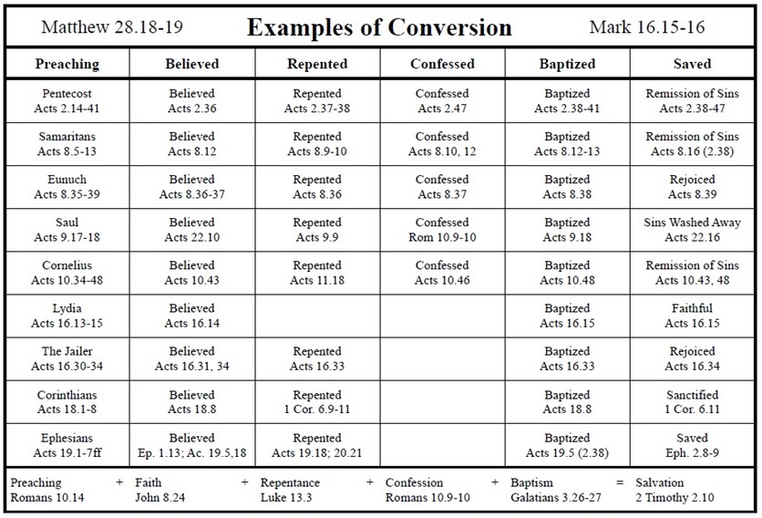 cases of conversion chart